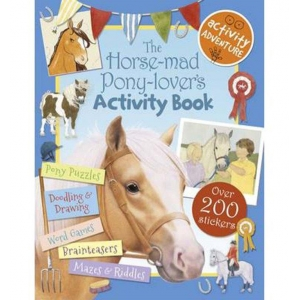 Pony Lovers Activity Book
