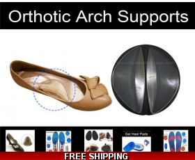 Orthotic Arch Supports Pads Foot Wedge Inserts
