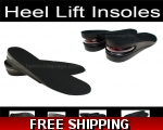 Men´s Height Increase | Heel Lifts | Shoe Lifts..