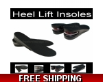 Height Inserts for Women Height Increasing Insoles