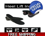 2 Pairs Women's Height Insoles Heel Shoe Lifts I..