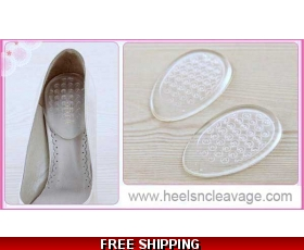 Invisible Heel Pads Gel Cushion