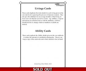 Livings Card Deck