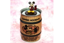 Mickey Instant Coffee with collectible holder 東京ディスニーミッキーコヒ 东京迪斯尼即沖咖啡
