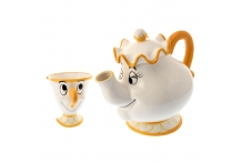 Japan Disneystore Disney Store Be Our Guest Beauty and the Beast Mrs. Pott and Chip Tea Set ティーセット ポット夫人とチップ Be our guest 美女と野獣