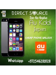 KDDI JAPAN IPHONE UNLOCK 6s 6splus 5se..