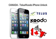 Koodo Canada Telus iphone Unlocking