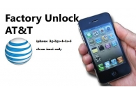 AT&T IPHONE FACTORY UNLOCK SERVICE IPH..