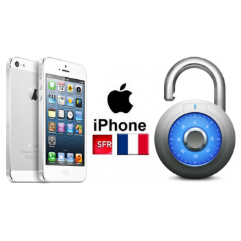Unlock sfr iphone ..