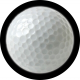 Golf Ball spare tire cover