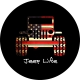American Flag Jeep Life Spare Tire Cover