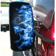 Blue Flame Spare Tire Tread Cover