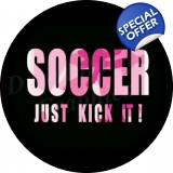 pink camo soccer spare tire cover