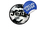 white camo jeep spare tire cover