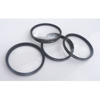 Closeup filter set of 4. Macro +1 +2 +4 +10 diaopter for camera lenses