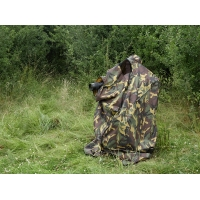 Wildlife photography bag hide in army DPM material
