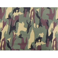 Cotton DPM army Camouflage Material