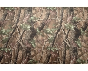 Camouflage woodland fabric in strong waterproof ..