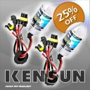 Kensun Single-Beam Bulbs