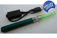 Rechargable Green 1100mah Battery H2 Atomizer