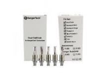 5 Kanger Tech Replacement Dual Coils Suitable To Be Used With AeroTank & ProTank 3