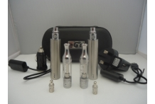Two 3200mah Ego Variable Voltage Battery ET-BDC Atomizers Twin Kit