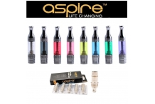 2 Aspire ET BDC Atomizers Plus 2 Replacement Coils