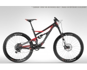 Devinci Spartan Carbon RS - Carbon / Red / Coal