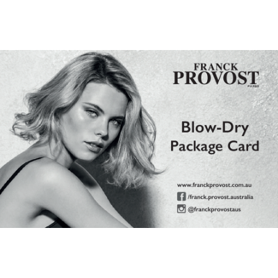 Blow Dry Package by 100