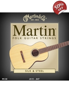 Martin Silk & Steel Guitar Strings