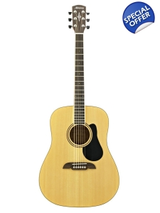 Alvarez Acoustic Guitar with Deluxe Gi..