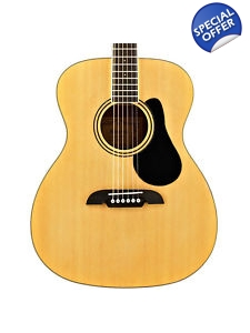 Alvarez Folk Size Acoustic Guitar with..