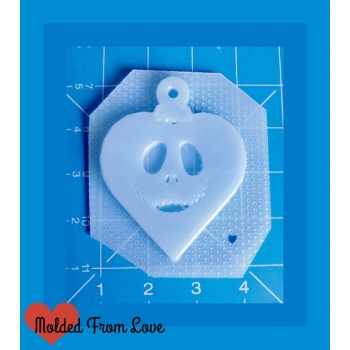 Jack Heart Face Ornament Han..
