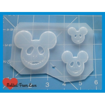 3 Jack Mouse Heads Handmade ..