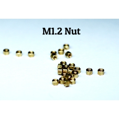Copper made M1.2 Bolt Nut
