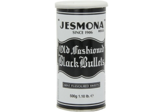 Jesmona Black Bullets 500g tins