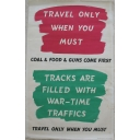 Travel only when you must