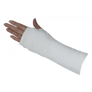 White Short Arm Cover