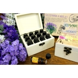 12x10ml Painted Aromatherapy Box