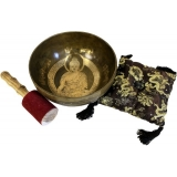 Brass Golden Special Singing Bowl Set