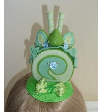 Simply Delicious - Lime Cupcake Fascinator