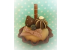 Chocolate Cupcake Fascinator