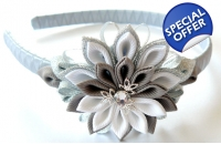 Kanzashi Flower Headban..