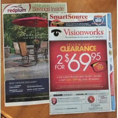 1/21- Red Plum + Smart Source=2 inserts wk 15ea =30 inserts HOT Coupons Week