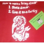 Turkey Dinner Tote Bag Details