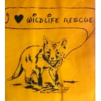 I LOVE WILDLIFE RESCUE bag