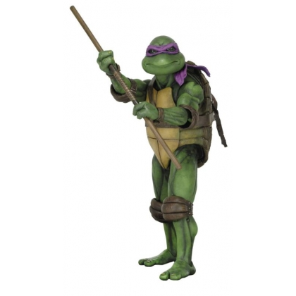 TMNT 1990 Turtles Movie Donatello 1:4 Scale Action Figure by NECA