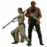ArtFx+ Star Wars Episode VII Rey & Fin..