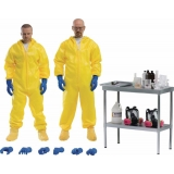 Breaking Bad Heisenberg & Jesse Hazmat..