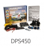 4 Parking Sensors - Audio & Dash Display